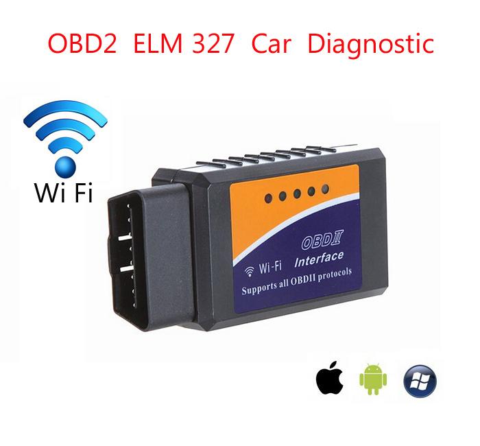 2015 самый ELM 327 оборудование 1.5 беспроводной wi-fi OBDII / OBD2 программное обеспечение v2.1 автоинструмент сканирования автоинструмент сканер ELM327 автомобиля чтения