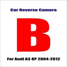 Автомобильная камера заднего вида для Audi A3 8L 8P 8V Автомобильная резервная камера заднего вида для парковки Full HD CCD аксессуары ночного видения...(Китай)