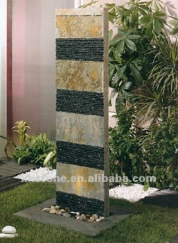 hot sale granite garden waterfall decorative water features (23 years  factory)