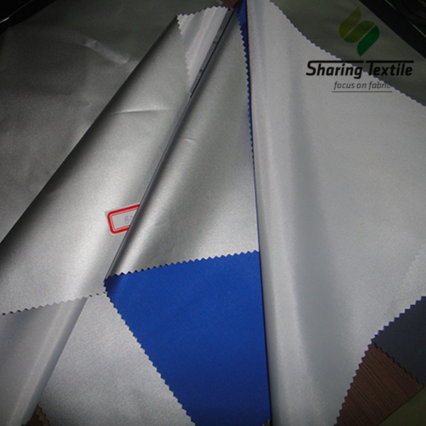 Factory 63D 66D 48Gsm To 62Gsm Silver Coating Cheap Lower Competitive 170T/190T/210T Taffeta Car Cover Fabric