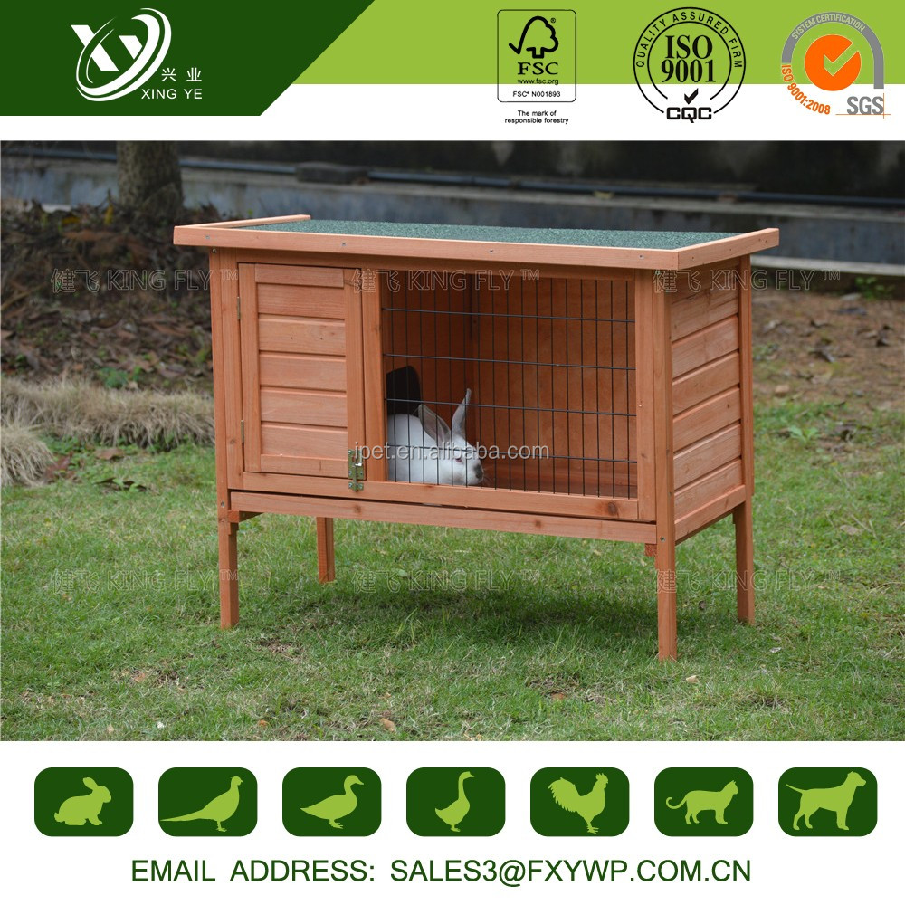 Beautiful appearance portable large double plastic rabbit hutch