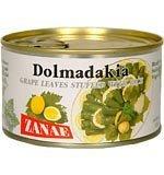Dolmadakia Natural Grape Leaves Stuffed with Rice 13 Oz.