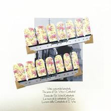 Eastern Foral Arts Nail Arts Nail Sticker Waterproof Nail Decal Sticker Gel Polish Full Tape French