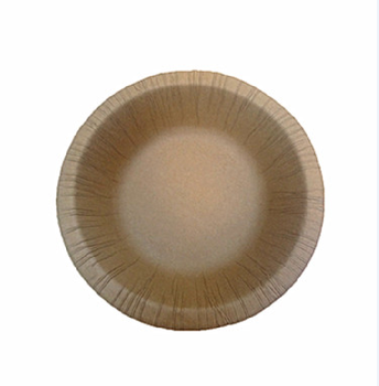 18cm Disposable Kraft paper bowl for party