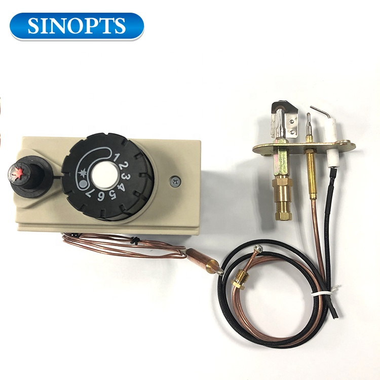Sinopts sensing element gas fireplace thermostat lowes