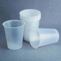 PS translucent wholesale cheap bulk disposable plastic tea cup