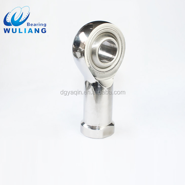 Super Durable Stainless Steel Spherical Plain Rod End Bearing SI14*2/SIL14*2