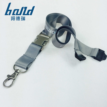 Factory sales polyester cheap custom lanyards no minimum order