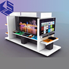 Modern TV stand design wooden TV display showcase for sale