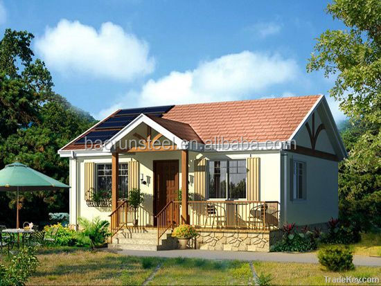 China Qingdao Baorun prefabricated light steel structure humanized design living house