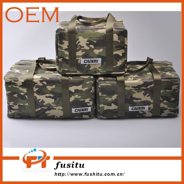 OEM Caden New Lens DSLR package Pouch Camo Cavans Foldable Camera Liner Bag