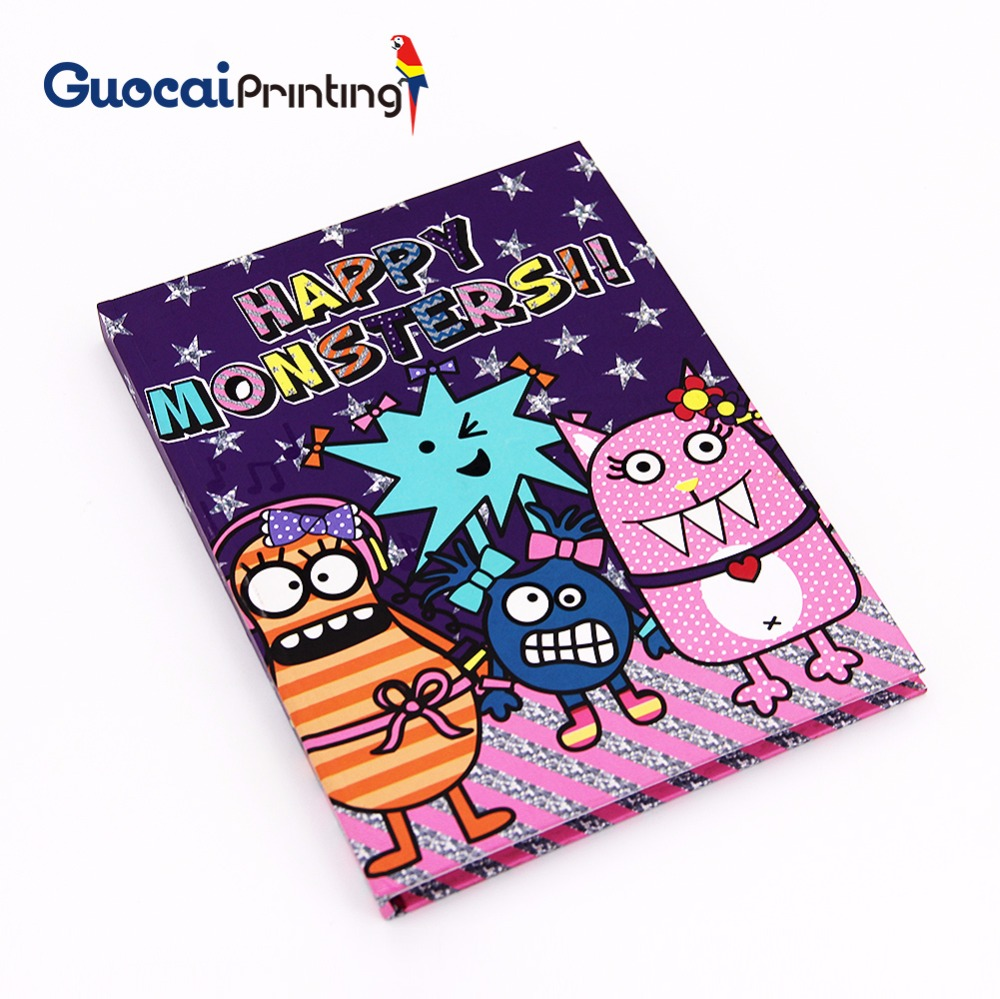 Wholesale cheap custom school exercise math notebook printing, custom printed hardcover notebook