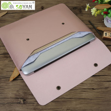 Fashion Laptop Bag PU leather notebook case bag for macbook case 11 12 13 15 inch Laptop Sleeve For macbook pro 13