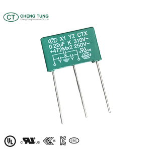 Delta Suppression Filter and X1+2xY2 Capacitor