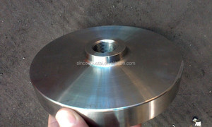 SS304 stainless steel npt blind flange for industry