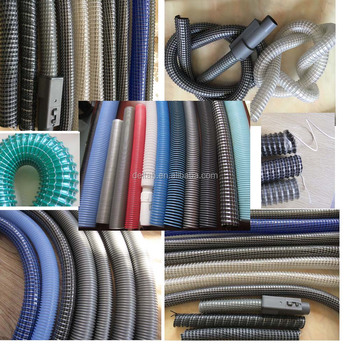 Flexible Hide A Hose Vacuum Cleaning Machine Use Soft Pipe Extrusion Line Cleaner