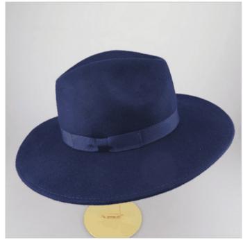 Cheap Vintage Black Wool Big Brim Felt Fedora Hat For Man - Buy ... bac759e3822