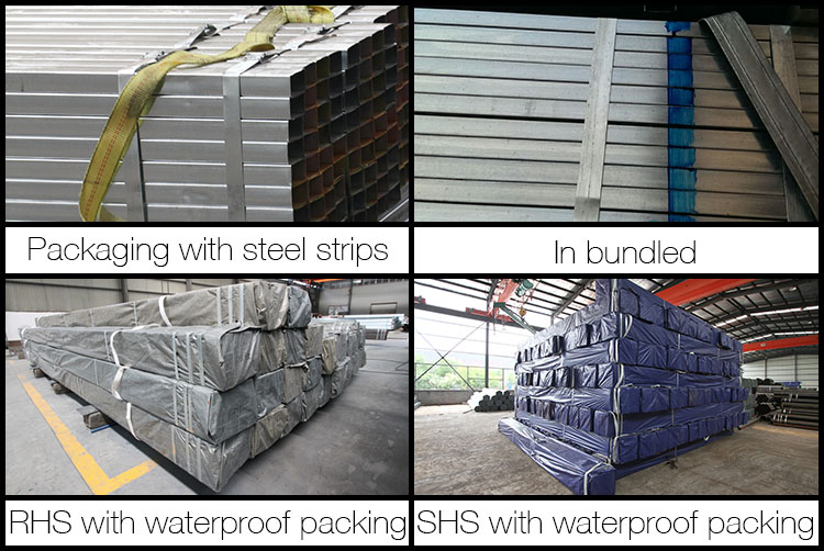 Building materials pre-galvanized steel pipe, carbon galvanized steel square tubing standard