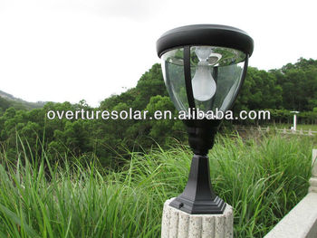 High Quality Led Path Lights/pillar Lights/solar Pillar Mounted ...