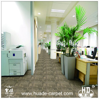 Nylon or PP Custermized Pictures of Thick Carpet Tiles for Floor
