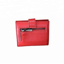 2018 New Design Red Top-곡물 Real Leather 아코디언 지갑 Zip protect RFID ID Credit Card Holder 돈 지갑 <span class=keywords><strong>결혼식</strong></span> 호의로