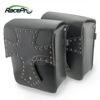 Motorcycle Tool Bag >> Leather Cross Motorcycle Tool Bag Luggage Saddle Bags For For Harley