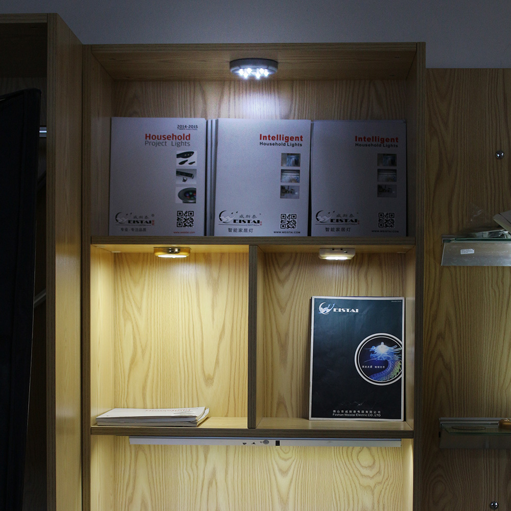 New design battery operated led light panel with PIR or motion sensor