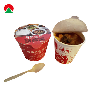 disposable custom printed paper hot insulated soup cups for soup