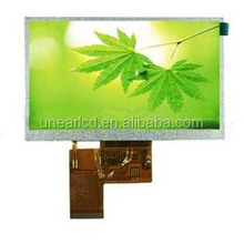 720*1280 dots 5 inch transparent tft lcd UNTFT40395