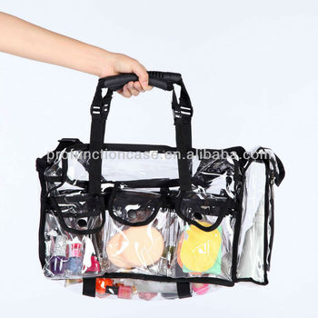 Pvc Cosmetic Bag Clear Pvc Makeup Bag Transparent Clear Cosmetic ...