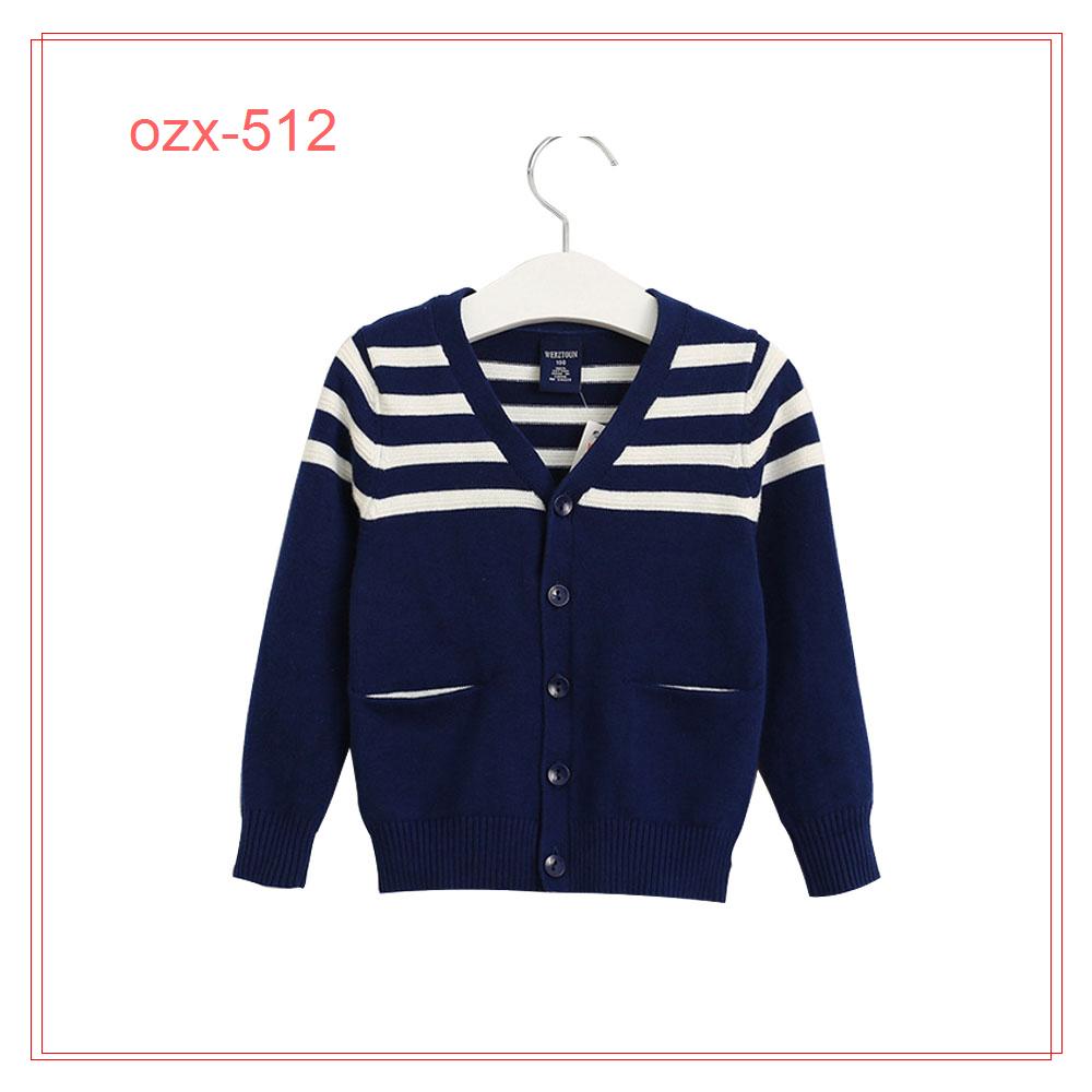 Kids Winter Wool Stripe Sweater Design For Boys - Buy Kids Sweater ...