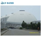 Warehouse Plant Plant Structure Dome Steel Truss Roofing Steel Structure Steel Space Frame Of The Coal Warehouse Cement Plant Bulk Silo