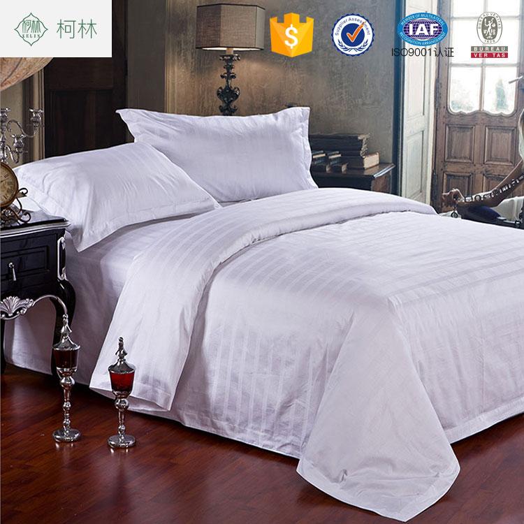 Hot Cake Apartment Use 5 Star 100 Cotton T300 Jacquard Hotel Bedsheet Bedding Sets