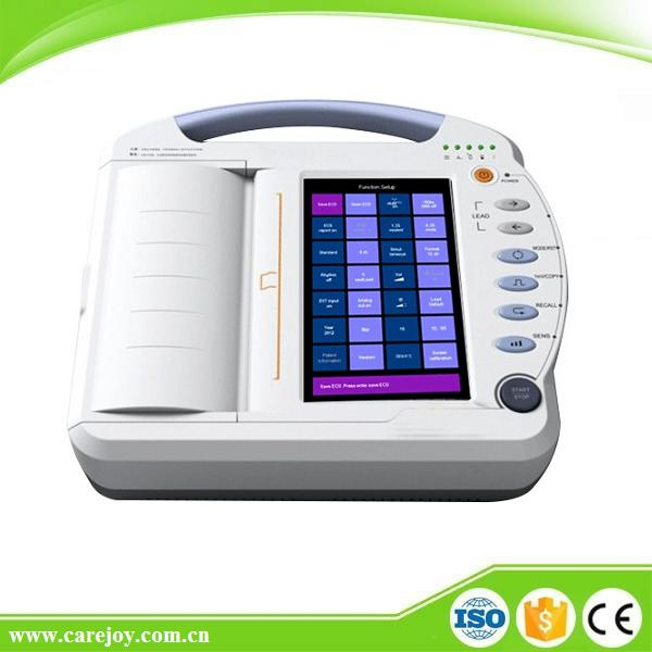 CE&ISO Handheld Price of Digital 12-channel Electrocardiograph ECG Machine EKG Machine EKG-1212A-Shelly