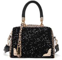 Leopard Shiny Lastest Leather Women Fashion Classy Designer Hand Bags
