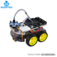 DIY Ultrasonic Smart Car Robot Chassis Kit Atmega-328p unor3 L298N for Arduinos