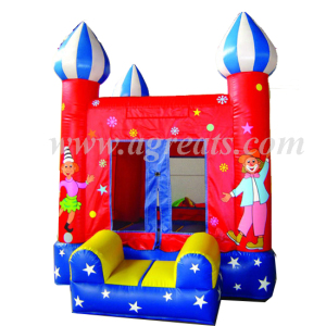 Cheap inflatable trampoline playground commercial jumping castles sale G1020