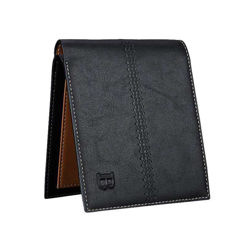 New Slim Men <strong>Wallets</strong> Cross Vertical Section Men <strong>Wallet</strong> With Photo Card Holder