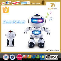 Hottest and newest kid toys ABS plastic rc intelligent robot toys