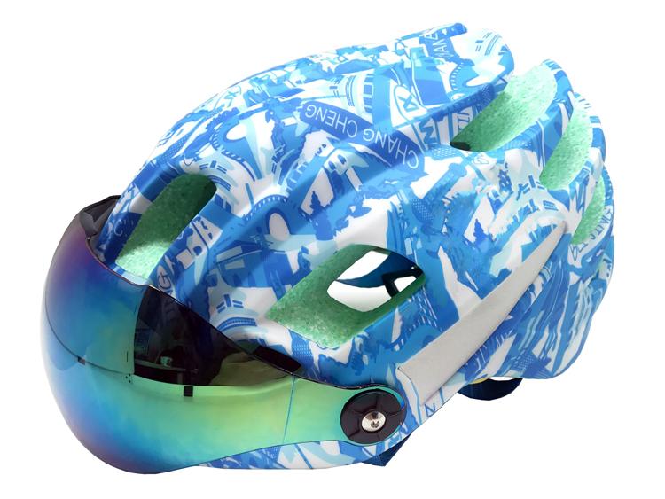 Goggle Available Aero Race Road Helmets 7