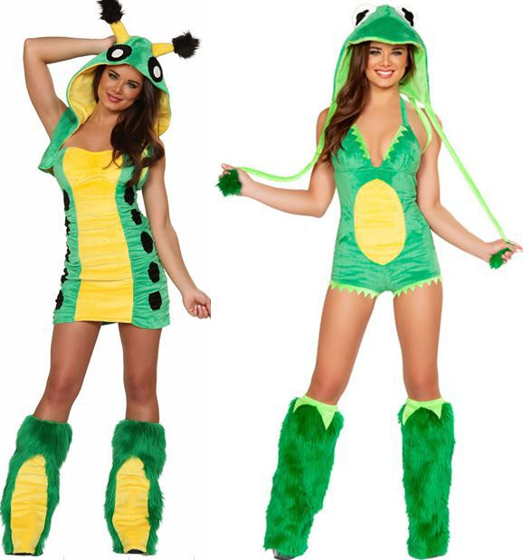 get quotations sexy frog costume exy caterpillar costume aminal themed halloween costume tdd80640