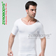 Perfect fit seamless 3d New V Collar Body Shaper for Men Gymnastics Clothing underwear men