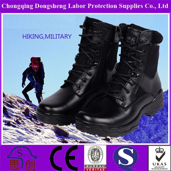 Black Us High Gloss Military Boots