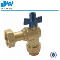 Brass Ball Ball with Deca Fittings for Water Emter