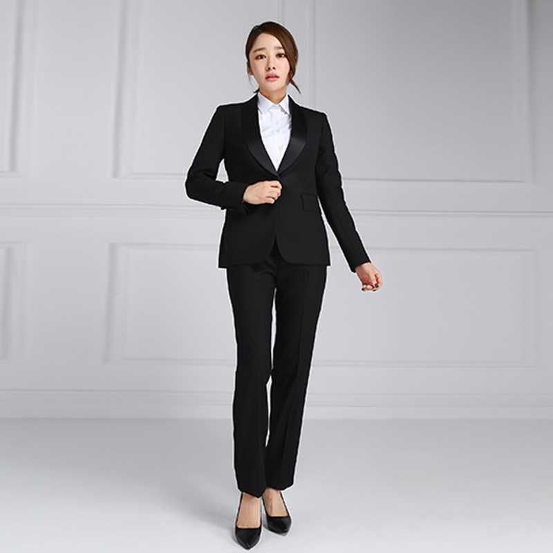 Business Formal Office Women Designer Trouser Suits Ladies Buy Trouser Suits Ladies Ladies Designer Trouser Suits Office Ladies Suits Product On Alibaba Com