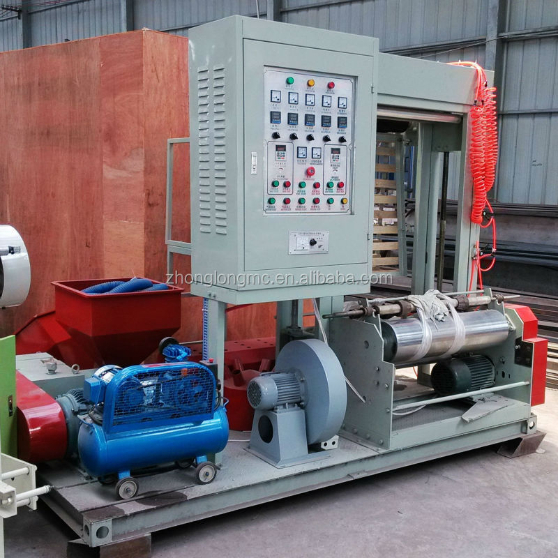 High quality Mini PE film blowing machine for LDPE, HDPE, LLDPE