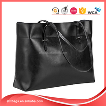 women's PU leather tote bag handbag at low price