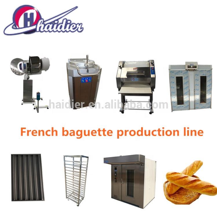 Novo estilo de equipamentos de padaria forno rotativo rack de preço da máquina de pão na etiópia