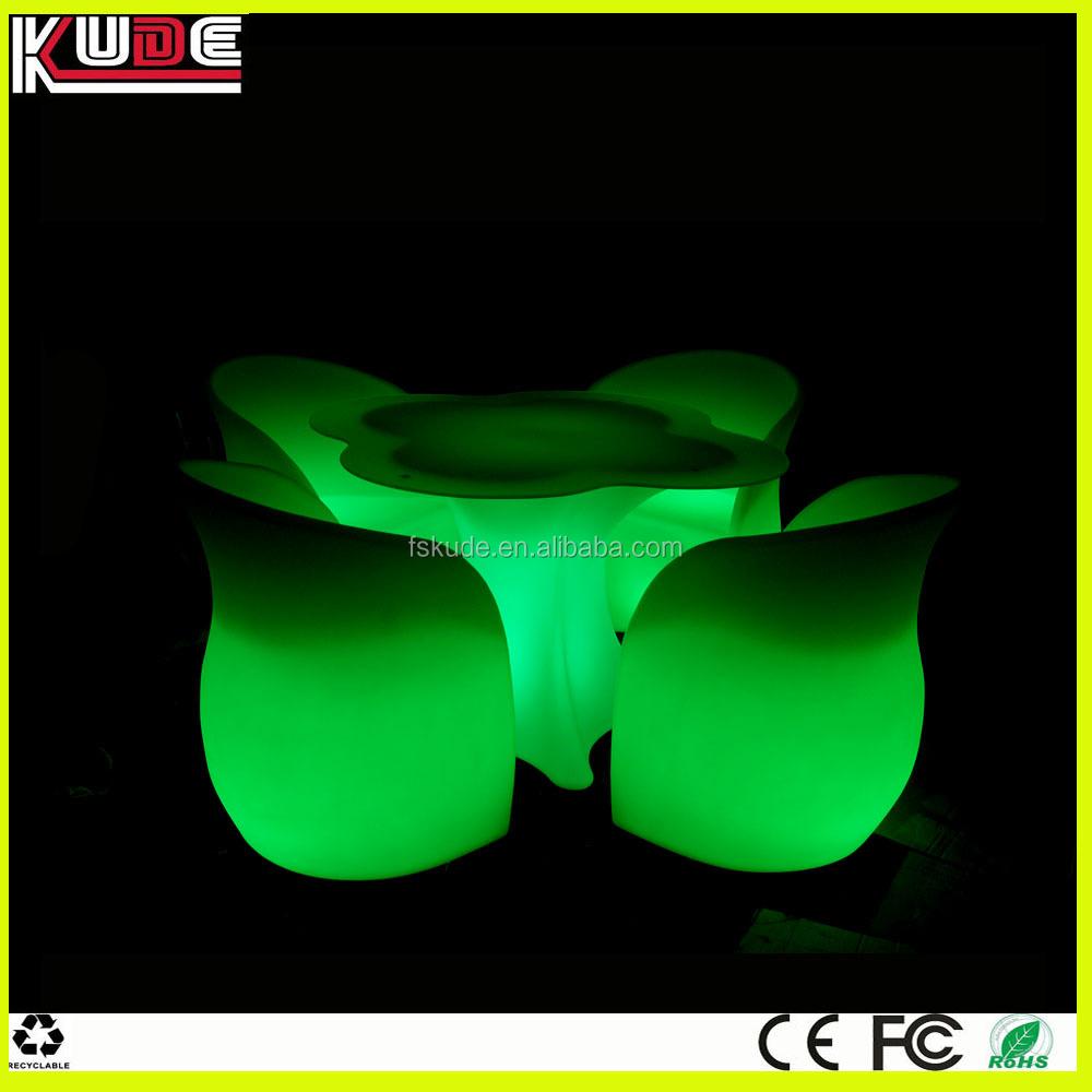 Mesa de pl stico y sillas muebles de jard n conjunto de - Sillas de jardin de plastico ...