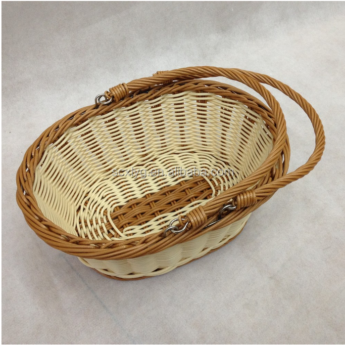 Woven Basket Procedure : Soft wicker basket fishing creel disposable